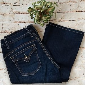 Seven7 Boot Cut Jeans sz 6